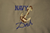 Navy DAD Shirts