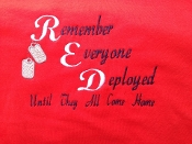 RED FRIDAY Support Shirts
