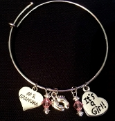 It's a Girl or It's a Boy Gender Charm Bracelet