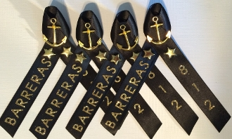 Navy PIR Ribbon for Special Op's Division Black and Gold