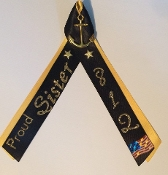 Ribbon Navy Special Op's 800 DIV Double colored Proud Mom/Dad