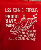 Shirt, Red Friday Aircraft Carrier shirts