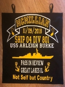 Navy PIR Ribbons and Door Banner Package For 800 Divisions