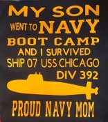I Survived boot camp  Ship & DIV Shirt