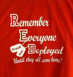 Remember Everyone Deployed Red Friday Shirt