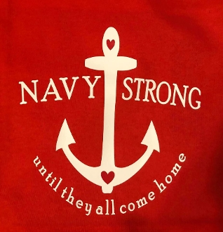 Navy Strong Red Friday Ship/Sub/Squadron Shirts