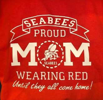 Seabees Mom Red Friday Shirts