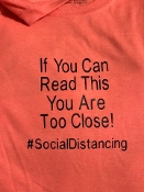 If you can read this... Social Distancing